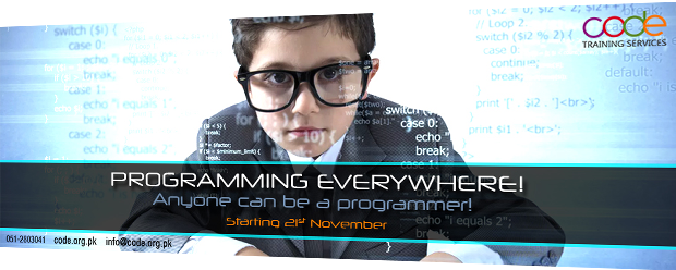 Anyone can be a programmer